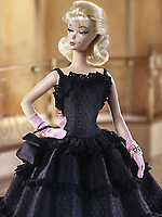Black Enchantment Barbie Fashion