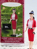 Busy Gal Barbie Ornament