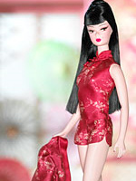 Chinoiserie Red Moon Barbie