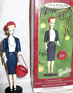 Commuter Set Barbie Ornament