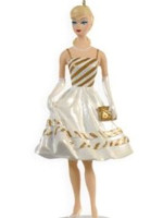 Country Club Dance Barbie Ornament