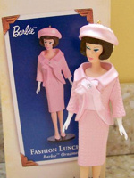 Fashion Luncheon Barbie Ornament