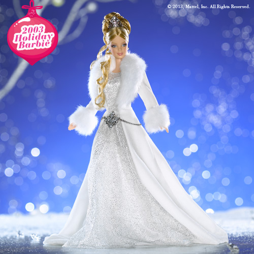 2003 Holiday Barbie
