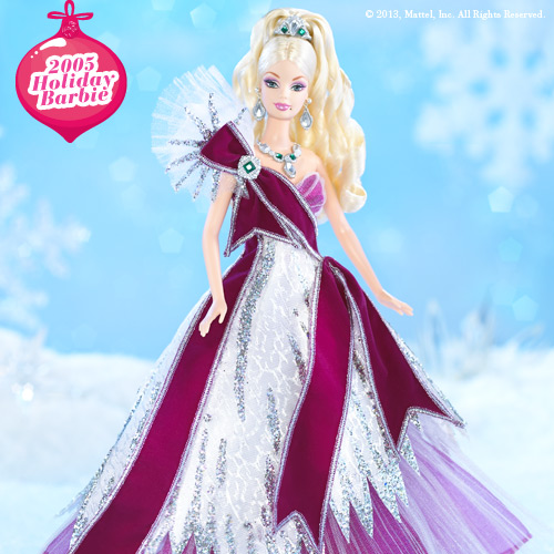 2005 Holiday Barbie