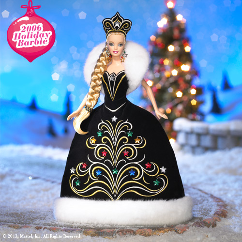 Holiday Barbie 2006