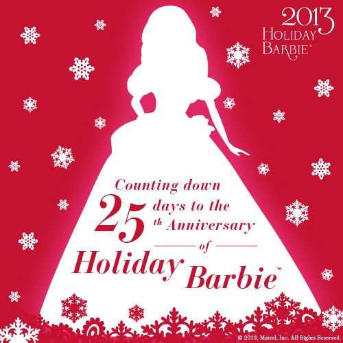 Celebrating 25 Years of Holiday Barbie