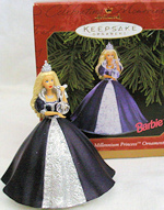 Millennium Princess Barbie Ornament