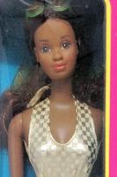 Sun Gold Malibu Barbie  - Black Barbie Version- 1984