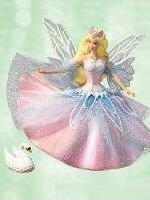 Swan Lake Barbie Ornament