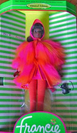 VINTAGE MATTEL Barbie FRANCIE MISS TEENAGE BEAUTY FLOWER BOUQUET  #1284 REPRO