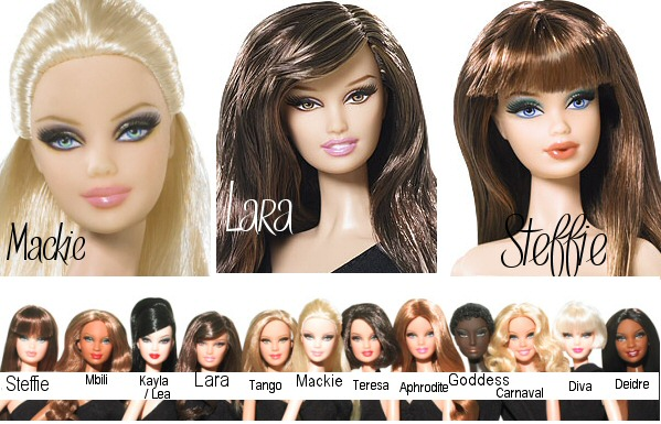 Types of Barbies