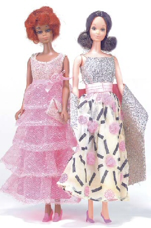 Vintage Barbie Dolls Photo