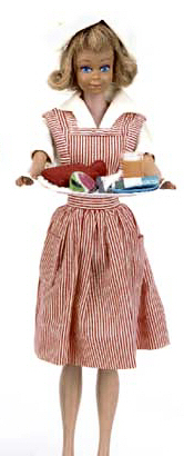 Vintage Barbie Candy Striper Volunteer #889 (1964)