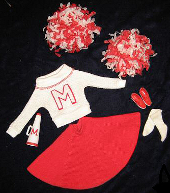 Vintage Barbie Cheerleader
