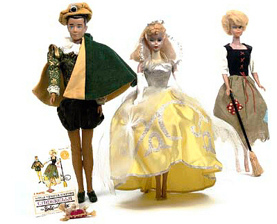 Vintage Barbie Cinderella and The Prince