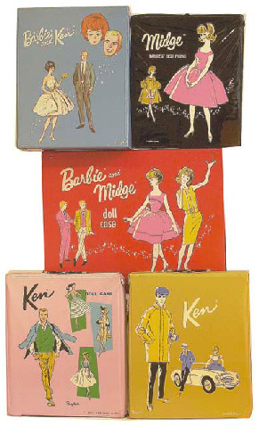 Vintage Barbie Doll Cases