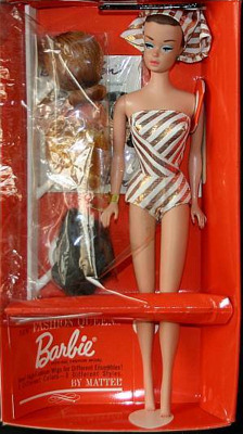 Vintage Barbie Fashion Queen Doll