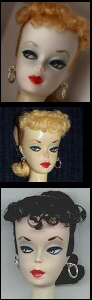 Vintage Barbie Ponytail Dolls