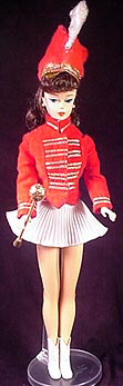 Vintage Barbie Drum Majorette