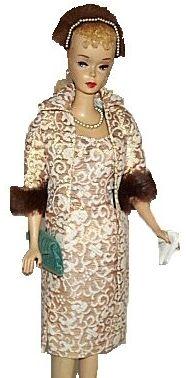 Vintage Barbie Evening Splendour #961 (1959-1964)