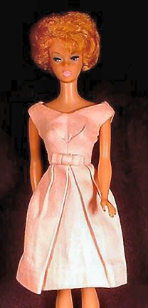 Vintage Barbie Fashion Pak Belle Dress