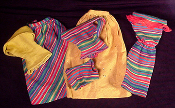 Vintage Barbie Fashion Pak Knit Mix and Match Group
