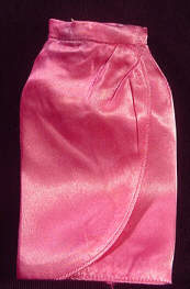 Vintage Barbie Fashion Pak Satin Wrap Skirt
