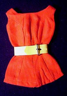 Vintage Barbie Fashion Pak Scoop Neck Playsuit
