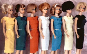 Vintage Barbie Fashion Pak Silk Sheath Dress (1962-1963)