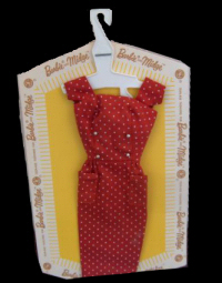 Vintage Barbie Fashion Pak Polka-Dot Sheath Dress