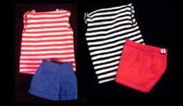 Vintage Barbie Fashion Pak T-Shirt and Shorts