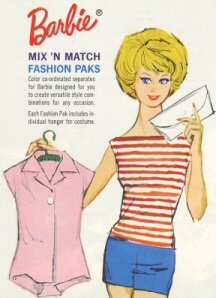 Vintage Barbie Cotton Mix & Match Group