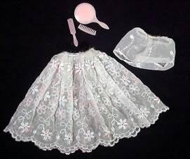 Vintage Barbie Floral Petticoat