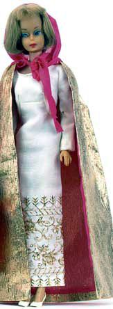 American Girl Barbie wearing Formal Occasion  #1697 (1967)