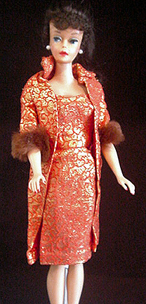 Vintage Barbie Golden Elegance