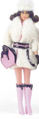 Vintage Barbie Lamb 'n Leather