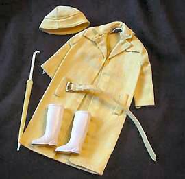 Vintage Barbie Raincoat