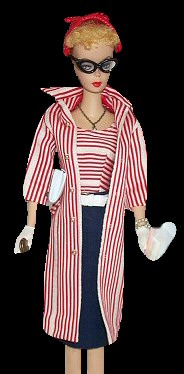 Vintage Barbie wearing Roman Holiday