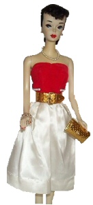 Vintage Barbie Silken Flame