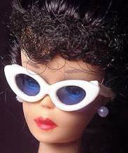 Vintage Barbie White Sunglasses