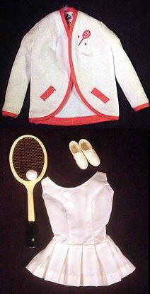Vintage Barbie Tennis Anyone?