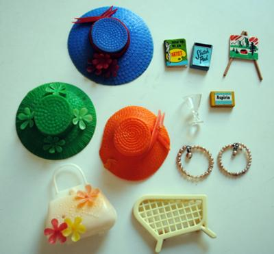 All vintage barbie products simply