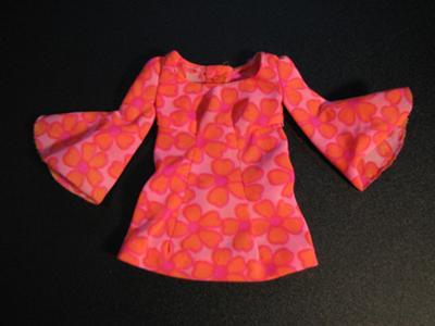 Mods Fashion History on Barbie Identification  Mod Hot Pink And Orange Top   Mini Dress  Pj