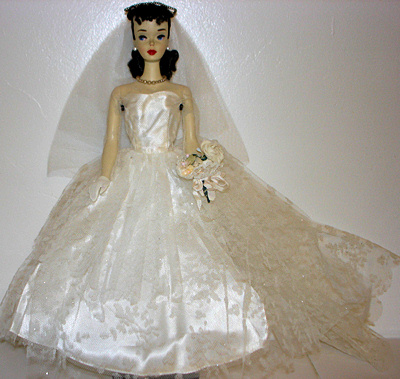 #3 Barbie wearing Wedding Day Set