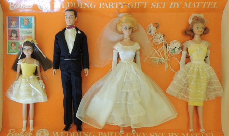 Barbie Wedding Party Gift Set (1964)