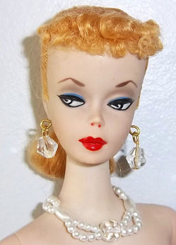 #1 Blonde Ponytail Barbie