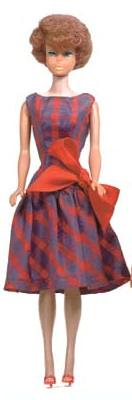 Bubblecut Barbie wearing Beau Time