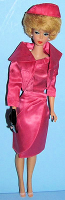Bubblecut Barbie wearing Satin 'n Rose