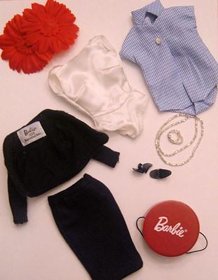 Barbie Commuter Set Reproduction Clothing