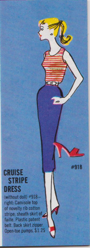 Cruise Stripes from vintage Barbie catalog
